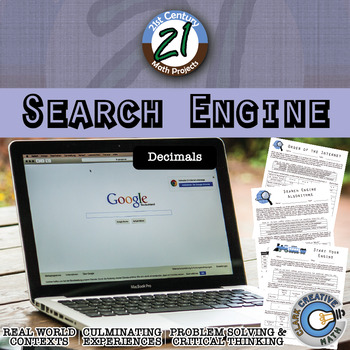 Search Engine -- Comparing Decimals and Operations Technol