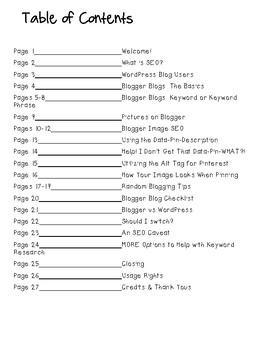 Search Engine Optimization for Blogger Blogs   SEO Basics for Teacherpreneurs