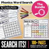 Phonics Search Its! Bundle - Phonics Word Search Sheets