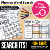 Phonics Search Its! Bundle - Phonics Word Search Sheets