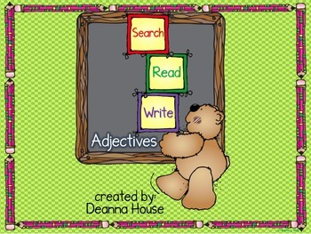 Search / Read / Write ~ Adjectives