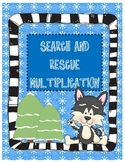 Search & Rescue Multiplication ~ Bonus QR Code Cards!