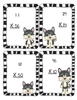 Search & Rescue Multiplication ~ Bonus QR Code Cards!