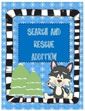 Search & Rescue Two Digit Addition ~ Bonus QR Code Cards!
