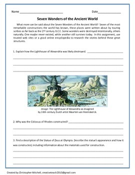 Search & Research 15 Multidisciplinary Worksheets