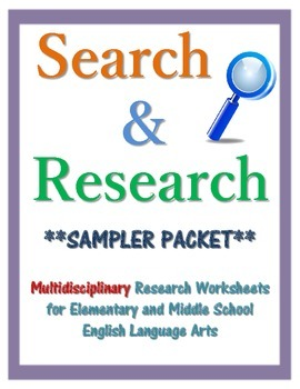 Search & Research FREE Sampler Packet