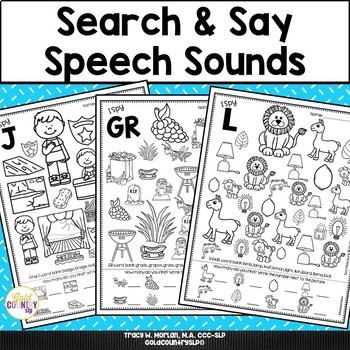 Search & Say Speech Sounds