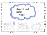 Search and Color ABCs (No Prep, 26 Pages!)