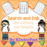 Search and Dab for Letters and Sounds