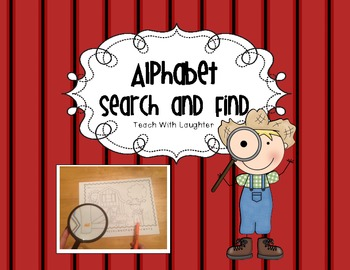 Search and Find Alphabet Letters