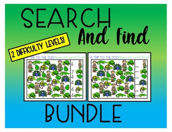 Search and Find - Bundle