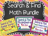 Search and Find Math Bundle