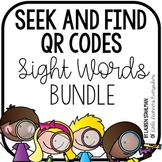 Sight Words QR Code Write the Room Bundle