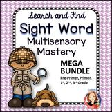 Sight Word Games and Activities Multi-Sensory Mastery Mega Bundle