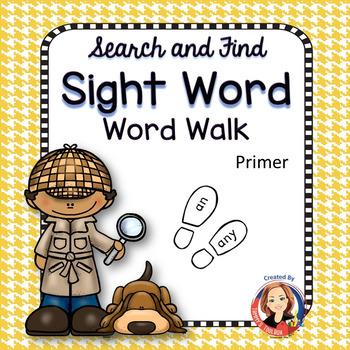 Search and Find Sight Words Multisensory Mastery Primer Bundle
