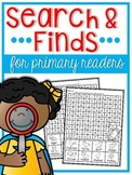 Search and Finds {for primary readers}