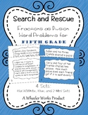 Search and Rescue: Fractions as Division Word Problems for Fifth Grade