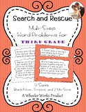 Search and Rescue: Multi-Step Word Problems for Third Grade