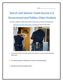 Search and Seizure: Crash Course U.S. Government and Politics Video Analysis