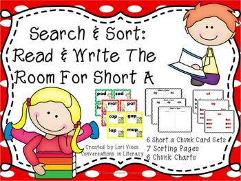 Search and Sort:  Read and Write the Room For Short a