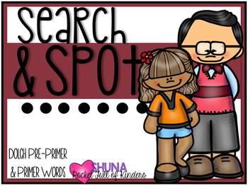 Search and Spot Dolch Sight Words