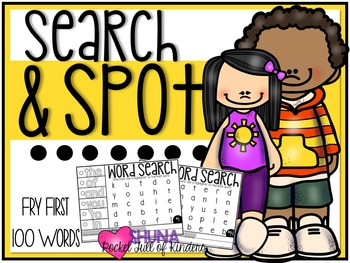 Search and Spot Fry Sight Words