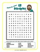 """Search for Jesus' Twelve Disciples"" Word Search Puzzle FREEBIE!"
