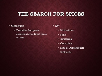 Search for Spices