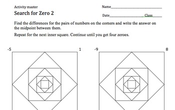 Search for Zero: Creative Practice with Subtraction