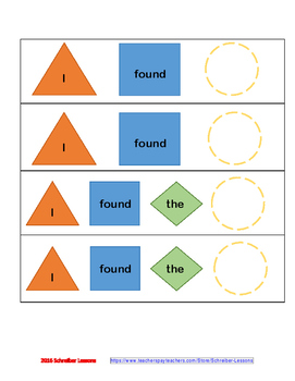 Search for the Buried Treasure - /l/ in all word positions (sensory component!)