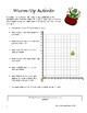 Search for the Leprechaun's Gold: Coordinate Plane Activity for Middle School