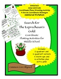 Search for the Leprechaun's Gold: Coordinate Plane Activit