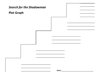 Search for the Shadowman Plot Graph - Joan Lowry Nixon