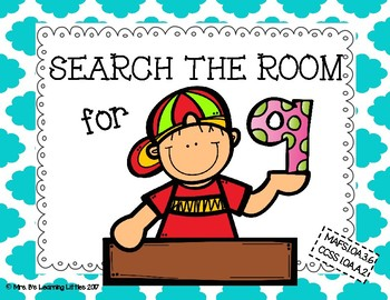 Search the Room: Decomposing 9 using Addition and Subtraction