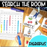 Search the Room Digraph Reading and Writing   CH SH TH WH