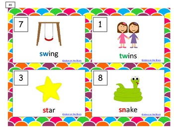 Search the Room: Write and Draw-- Blends Style