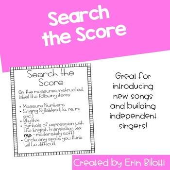 Search the Score