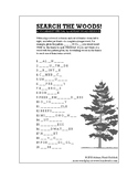Search the Woods Vocabulary Puzzle