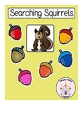 Searching Squirrels: Number Bond Addends Games & Activities