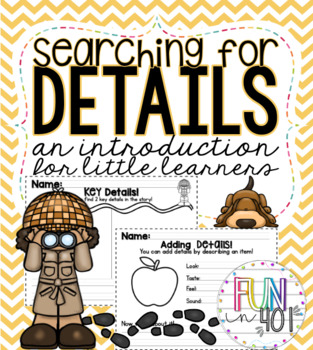 Searching for Details!