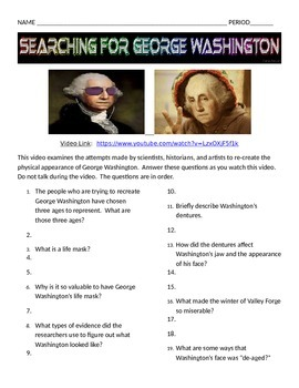 Searching for George Washington