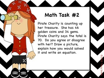 Searching for Math Treasure! Subtraction Activities, Centers and Tasks!