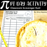 Pi Day Activity: Scavenger Hunt for Middle School