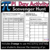 Pi Day Activity: Scavenger Hunt for Middle School