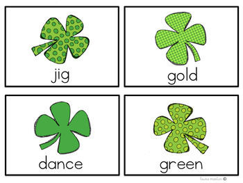 St. Patrick's Day Syllable Sort
