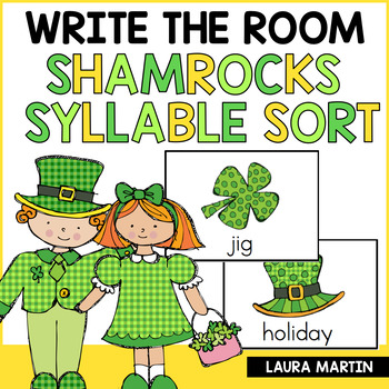 St. Patrick's Day Syllable Sort FREEBIE