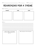 Searching for Theme - Graphic Organizer