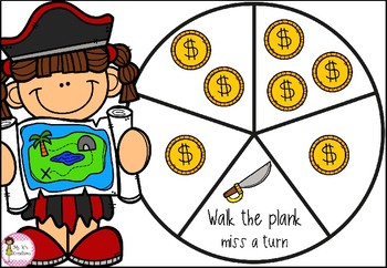 Searching for Treasure - CVC word game