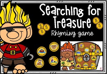 Searching for Treasure - Rhyming Game