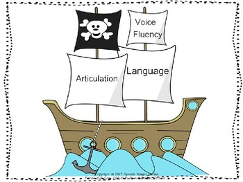 Pirate Themed Decor: Searching for Treasures in Speech and Language
